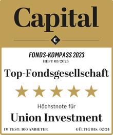 Auszeichnung Capital Höchstnote